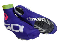 Free Shipping  Cycling Shoe Cover Blue SIDI Anti-dust Bike Accessories Outdoor New Style in 2014