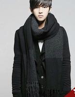 New Fashion Men Famous Brand Scarf/bufandas, WOOL Men Scarf , Designer Luxury Scarves Shawl  men scarf  with 4 color 17#