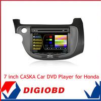 2014 original 7 inch CASKA CAR dvd player Car in-dash unit for Honda Fit 2008-2010 Radio DVD player Navigation Bluetooth CA3618