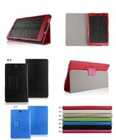 Screen Protector+Stylus+Stand Slim Leather Cover Case for Sony Xperia Z3 Tablet Compact SGP641 SGP612