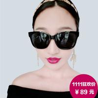Women's sunglasses fashion sunglasses high quality anti-uv eyewear star style