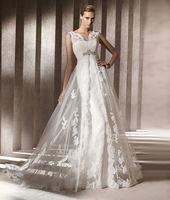 New Sexy Sleeveless Wedding Dresses Bridal Dress Gown Size 8 10 12 14 16 18 20+