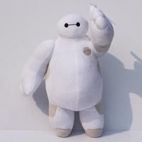 1pcs 30CM The BIG Hero 6 Baymax plush dolls The Frozen OLaf snowman Baymax stuffed animal plush bececos toys