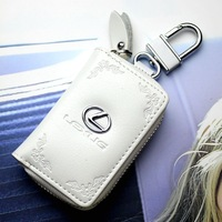 Free Shipping 4 colors Fashionable Genuine Leather Car Remote Key Bag For Lexus RX270/ES300h/RX350/ES250