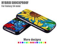 New Popular Flip Cover For Samsung S4 mini I9190 Newest Design Cover For Samsung Galaxy S4 mini Support Wholesale