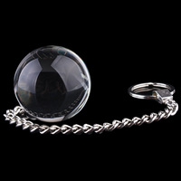 30*270mm Crystal Vaginal Exercise Balls Glass Balls Glass Anal Dildos sex toy for women Female Masturbation Sex toy T72