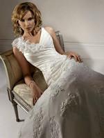 NEW White/Ivory Bridal Gown Lace Wedding Dress Custom Size 4 6 8 10 12 14 16 18+