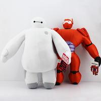 40CM White and Red  The big hero 6 Baymax plush dolls Baymax plush Toy Toys
