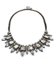 Transparent Luxury Gemstone Necklace