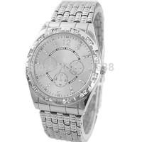 200pcs/lot 2014 new fashion watch for women/men gold silver diamond Quart watches men luxury brand