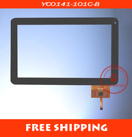 10.1inch tablet touch YC0141-101C-B Tablet PC capacity touch screen panel