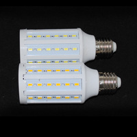 DHL/FEDEX Freeshipping 30pcs/lot E27/E14/B22 15W 60 LED 5730 SMD corn light Warm White/ Cool White led Bulb Lamp 220V/110V