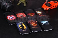 4.7  inch case For iphone 6 case 2014 New Arrival Fashion Superman Ironman X-man Batman Hero design Phone Cases Free Shipping