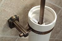 antique brass toilet brush holder&brush&tumbler,new design,free shipping,promotion