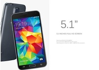 "xmas! in stock ! Real 1:1 clone 5.1"" I9600 Galaxy S5  G900 For Samsung  Galaxy S5 i9600  with Cases   mobile phone Cell Phone"