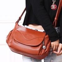 2014 women's  PU messenger bag women's cross-body shoulder bag