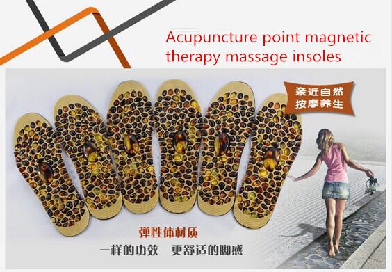 2014 Senior pebbles feet meridians Massage foot massage insoles insoles insoles for men and women free shipping(China (Mainland))