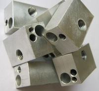 Free Shipping 3D Printer Parts Heater Block aluminum block For Ultimaker 3D Printer Nozzle 10pcs/lot  MG-DH004