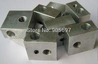 Hot selling 10pcs/lot 3D Printer Makerbot MK8 Block Heater Aluminum Compatiability For Makerbot 3D Printer Nozzle MG-DH005