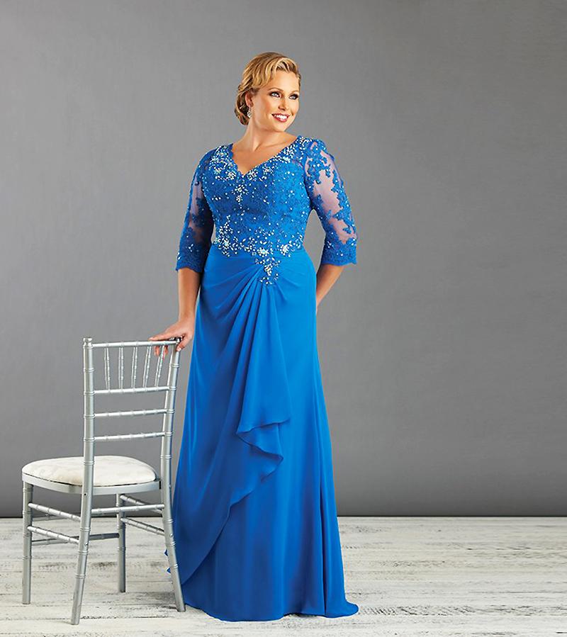 plus length attire for wedding