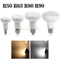 R50 R63 R80 R90 7W/10W/14W/15W E27 Umbrella LED Bulb Cool White/Warm White AC85~265V dimmable SpotLight 180 degrees Lamp