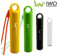 IWO P12 2400mAh USB External Backup Powers Power Bank Pack for iPhone iPod iPad mobile Phone Universal Battery Charger