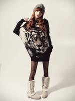 Autumn 2014 Women Casual Dress Fashion Long Sleeve Patchwork Bodycon Knitted Winter Dress Vestido Informal Vestidos Femininos