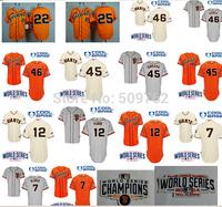 2014 world series jerseys baseball  champions jerseys 28 buster posey jersey 40 bumgarner jersey wholesale free shipping