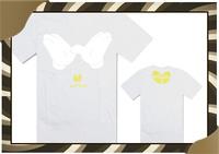New Arrival Cheap Wu Tang ew Mens Summer Tops Tees Short Sleeve t shirt Man Plus Size White Color Wu Tang T Shirt-049