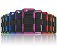 Wholesale 3 in 1 stand cover protective shell Shockproof case with belt clip for 4.7 inch For Apple iPhone6