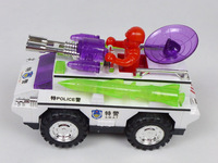 2014 New Plastic Electric Musical Flash Police car for children SWAT Armored explosion-proof automobile Moq:1 Pcs Free shipping