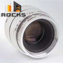 25mm F1.7 CCTV 1/2″  inch CCTV C Mount CCTV Camera Lens Silver