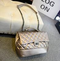2014 new women handbags fashion chain bag shoulder bag Messenger bag small Quilted handbag