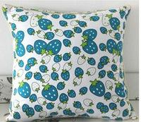 100% Printed Canvas  cushion cover square pillowcase 40*40CM