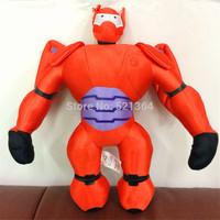2014 NEW!40cm=16 inch Big Hero 6 Baymax transform Orange Robot Plush Doll High quality Christmas gift for children Free Shipping