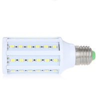 Energy Saving Corn Light Lamp Bulb E27 15W 60 LED 5630 220V SMD Warm & Pure White