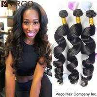 Malaysian Virgin Human Hair Weave ms lula hair 3Pcs Malaysian Deep Loose Wave Human Hair Extensions Natural Black Hair Bundles