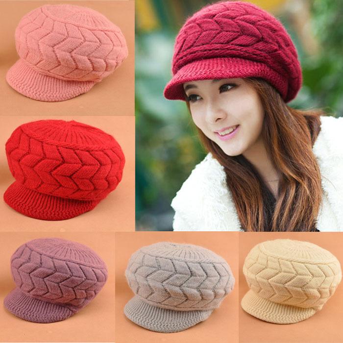 Crochet Hat Pattern For Women Crochet Hat Visor Pattern