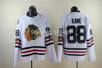 2015 Winter Classic Chicago Blackhawks Jerseys #88 Patrick Kane White embriodered jersey676