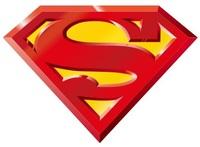 Superman Cool logo Decal Decor Removable Huge Wall Sticker Home Decor Art