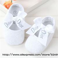 free  Girls Shoes Todder pre-walker shoes infant baby girl prewalker flower soft sole shoes Baby shoes Little Spring Drop ship