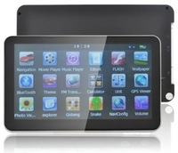 "7"" Car GPS Navigation Sat Nav Bluetooth AV-IN FM 256RAM 8GB All EU US AU Maps"