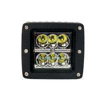 18W Type/F Spot 6000K 6-Cree XB-D LED Square Work Light Bar DIY Used in Car/Boat/Auto Headlight