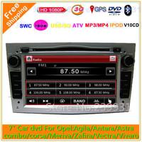 Touch screen car dvd gps for Opel Astra h Antara Vectra corsa Zafria Meriva with GPS Navigation Radio Stereo Tape Recorder