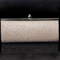 Women's Hot Sale Promotion New Arrival Handmade Rhinestone Chain  Day Clutch Free Shipping