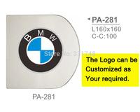 Entrance Door Pull Handle Customized Your Company Logo PA-28X Aluminium Alloy