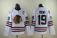 2015 Winter Classic Chicago Blackhawks Jerseys Ice Hockey Jersey Embroidery Logos Stitched #19 Jonathan Toews White jersey675