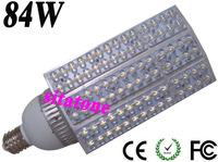 2 years warranty E40  84W led street light  Bridgelux 130-140LM/W LED 84*1w led street light AC85-265V
