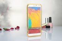 Super Fashion Aluminum Metal Diamond Bumper Compect Protective Frame Rhinestone Case For Samsung Galaxy Note 3