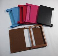6 Color Litchi Folding PU Leather Case For Lenovo Yoga Tablet 2 10 /Yoga 2 10 1050 Protector Cover, 100PCS/Lot